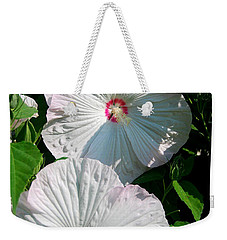 Weekender Tote Bag featuring the photograph Dish Flower by Brian Jones