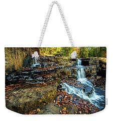 Dismal Creek Falls Horizontal Weekender Tote Bag