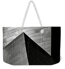 Disney Concert Hall Black And White Weekender Tote Bag