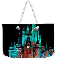 Weekender Tote Bag featuring the photograph Disney World Night by John Haldane