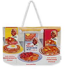 Disneyland And Aunt Jemima Pancakes  Weekender Tote Bag