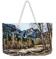 Distance Falls Weekender Tote Bag by Chuck Kuhn