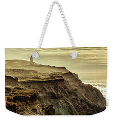 Distant Lighthouse Weekender Tote Bag