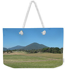 Distant Moutains Weekender Tote Bag