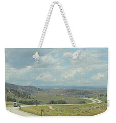 Distant Roads Weekender Tote Bag