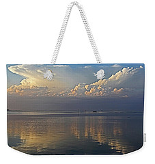 Weekender Tote Bag featuring the photograph Distant Thunder by HH Photography of Florida
