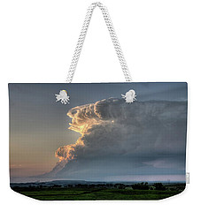 Distant Thunderstorm Weekender Tote Bag