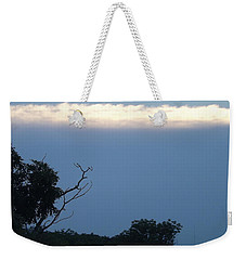 Distant White Clouds Weekender Tote Bag