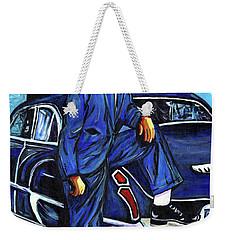 Distinguished Gentleman Weekender Tote Bag