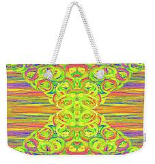 Ditto Weekender Tote Bag by Rachel Hannah