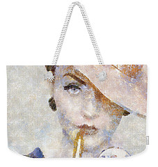 Diva Drama Weekender Tote Bag by Shirley Stalter