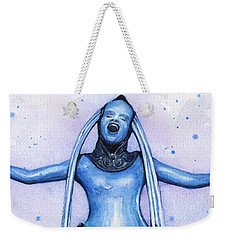 Diva Plavalaguna Fifth Element Weekender Tote Bag by Olga Shvartsur