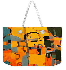 Diverging Pathways Weekender Tote Bag