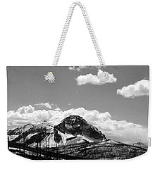 Divide In Blackand White Weekender Tote Bag