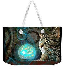 Weekender Tote Bag featuring the digital art Divination by Anastasiya Malakhova