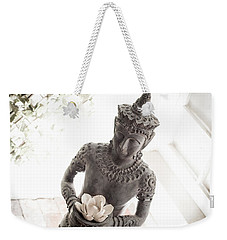 Weekender Tote Bag featuring the photograph Divine Back Light by T Brian Jones