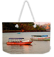 Weekender Tote Bag featuring the photograph Divine Grace by Sher Nasser