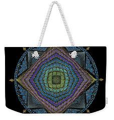 Divine Masculine Energy Weekender Tote Bag by Keiko Katsuta