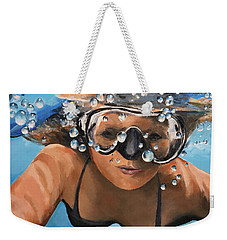 Diving Weekender Tote Bag