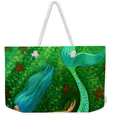 Diving Mermaid Fantasy Art Weekender Tote Bag