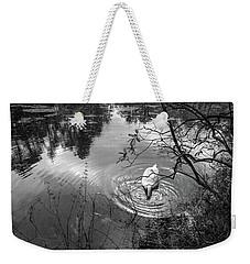 Swan Dive Weekender Tote Bag