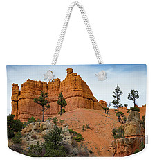 Weekender Tote Bag featuring the photograph Dixie National Forest by Kathleen Scanlan