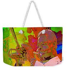 Dizzy Weekender Tote Bag by Mojo Mendiola