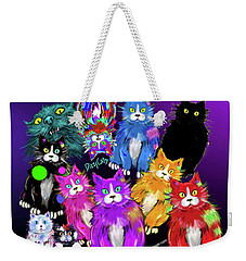 Dizzycats Weekender Tote Bag by DC Langer