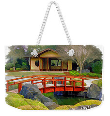 Do-00006 Cypress Bridge And Tea House Weekender Tote Bag