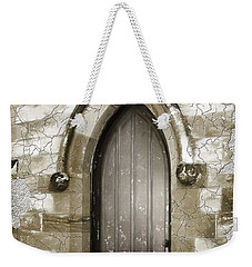Weekender Tote Bag featuring the photograph Do-00055 Chapels Door In Morpeth Village by Digital Oil