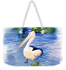 Do-00088 Pelican Weekender Tote Bag