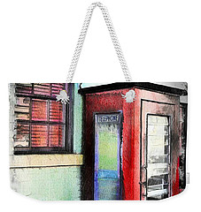 Do-00091 Telephone Booth In Morpeth Weekender Tote Bag