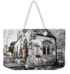 Weekender Tote Bag featuring the photograph Do-00116 Church In Morpeth by Digital Oil