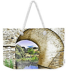 Weekender Tote Bag featuring the photograph Do-00262 Richmond Bridge by Digital Oil