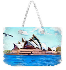 Weekender Tote Bag featuring the photograph Do-00293 Sydney Opera House by Digital Oil