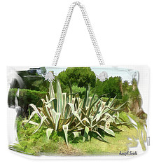 Weekender Tote Bag featuring the photograph Do-00335 Plant Bois Des Pins by Digital Oil