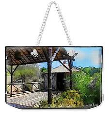 Weekender Tote Bag featuring the photograph Do-00342 Terrace Bois Des Pins by Digital Oil