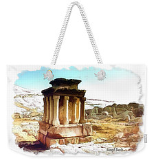 Do-00432 The Temple Of Faqra Weekender Tote Bag