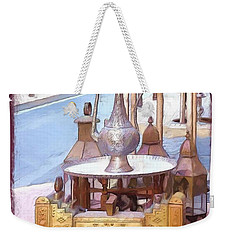 Weekender Tote Bag featuring the photograph Do-00456 Artisanat Collection by Digital Oil