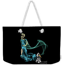 Do I Want To Build A Snowman Weekender Tote Bag