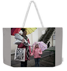Do It With Tally Weekender Tote Bag