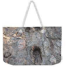 Weekender Tote Bag featuring the photograph Do Not Tread On Me by Marie Neder