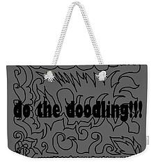 Do The Doodling Weekender Tote Bag