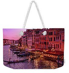 Magical, Venetian Blue Hour Weekender Tote Bag