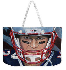 Weekender Tote Bag featuring the painting Do Your Job by Jack Skinner