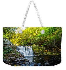 Doans Falls Lower Falls Weekender Tote Bag
