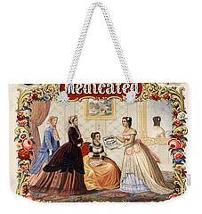 Dobbins Medicated Toilet Soap Advertising 1869 Weekender Tote Bag
