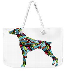 Doberman Spirit Glass Weekender Tote Bag