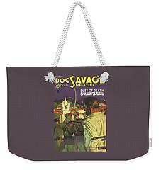 Doc Savage Dust Of Death Weekender Tote Bag