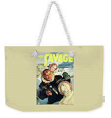 Doc Savage Fortress Of Solitude Weekender Tote Bag